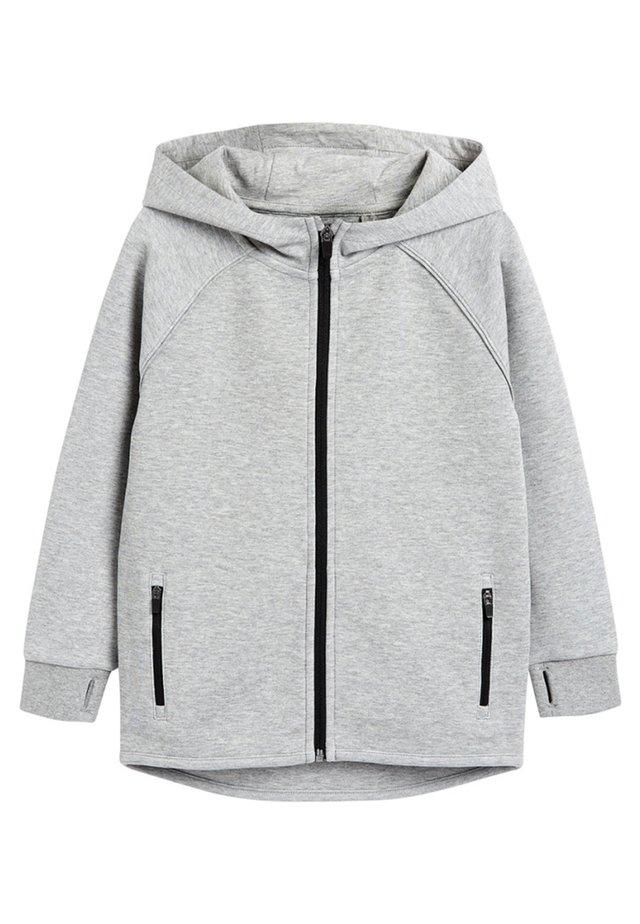 BLACK SPORTS ZIP THROUGH - Mikina na zip - grey