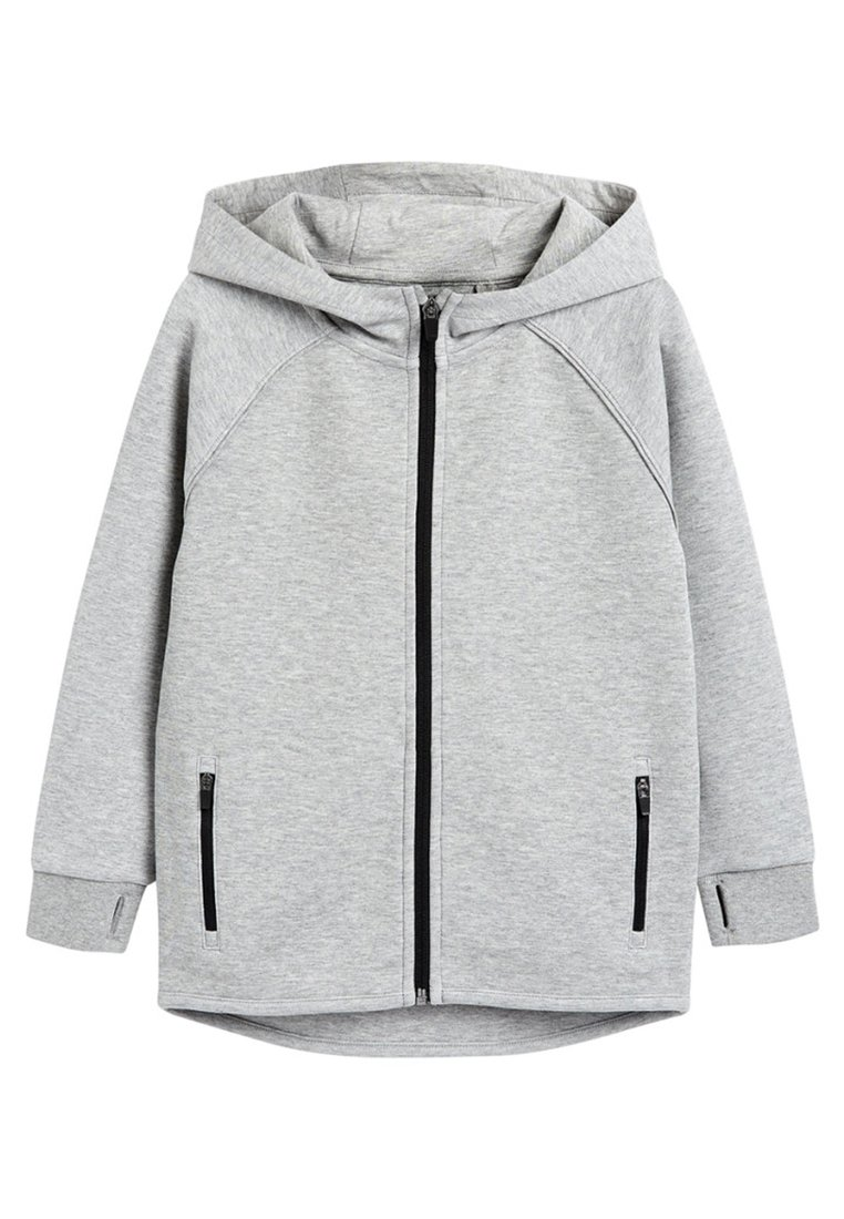 Next - BLACK SPORTS ZIP THROUGH - Zip-up hoodie - grey