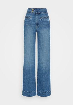 LE HARDY WIDE LEG - Straight leg jeans - oceanside