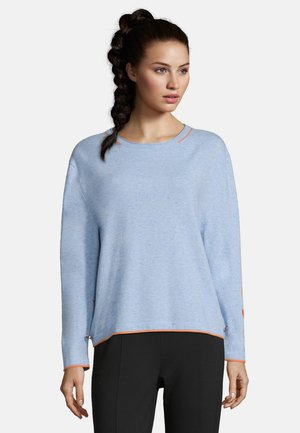Jumper - light blue melange