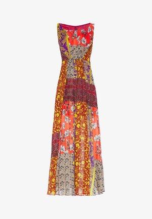 Maxi dress - arancio-viola
