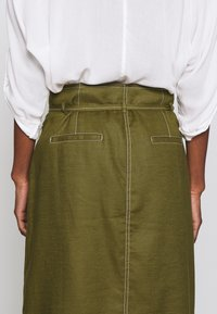 J.CREW TALL - NEW AVERY SKIRT - A-Linien-Rock - olive - 3
