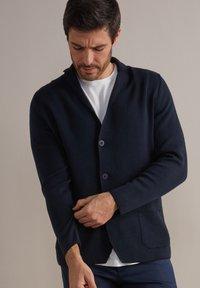 Falconeri - Blazer jacket - blu navy - 0
