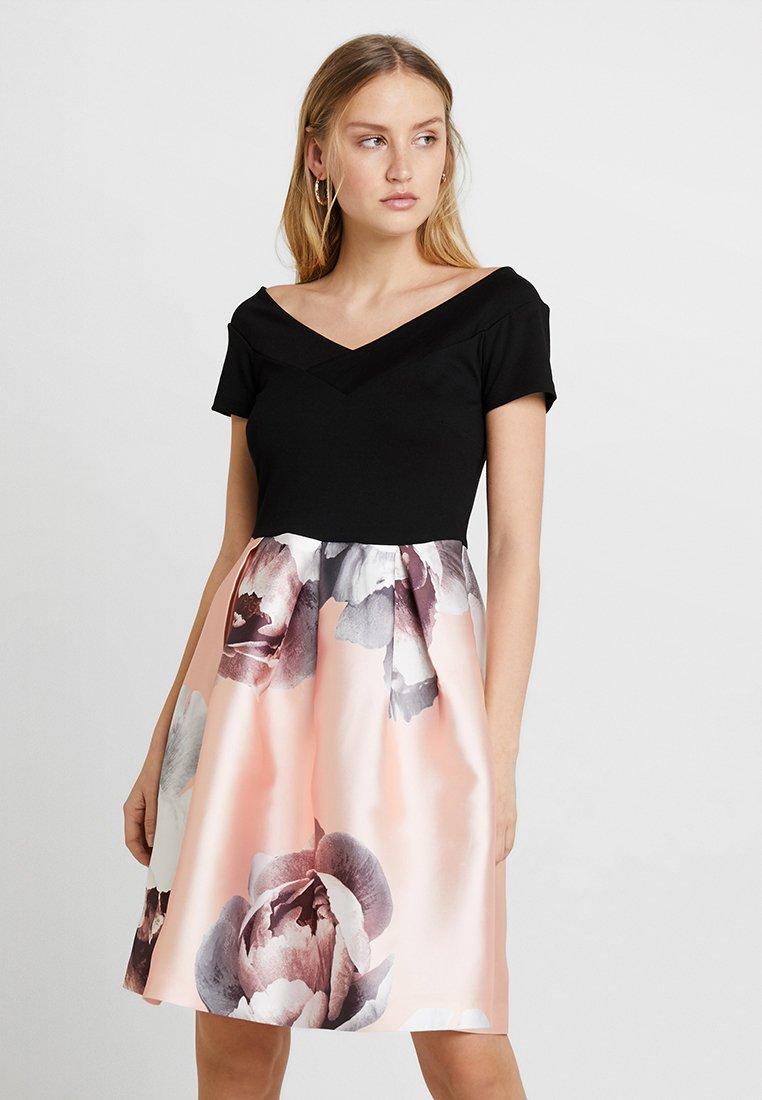 Anna Field - Day dress - rose/black