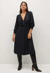 Violeta by Mango - CALADO - Day dress - schwarz - 1