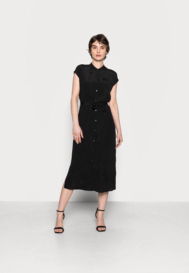 QUITO - Košilové šaty - black