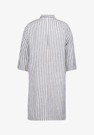 3/4 ARM - Shirt dress - white/classic blue