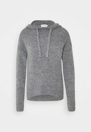 ONLCORINNE HOOD - Sweat à capuche - medium grey melange