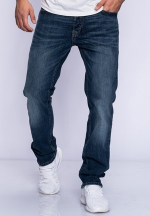 CLARK JJARIS  - Straight leg jeans - dark blue denim