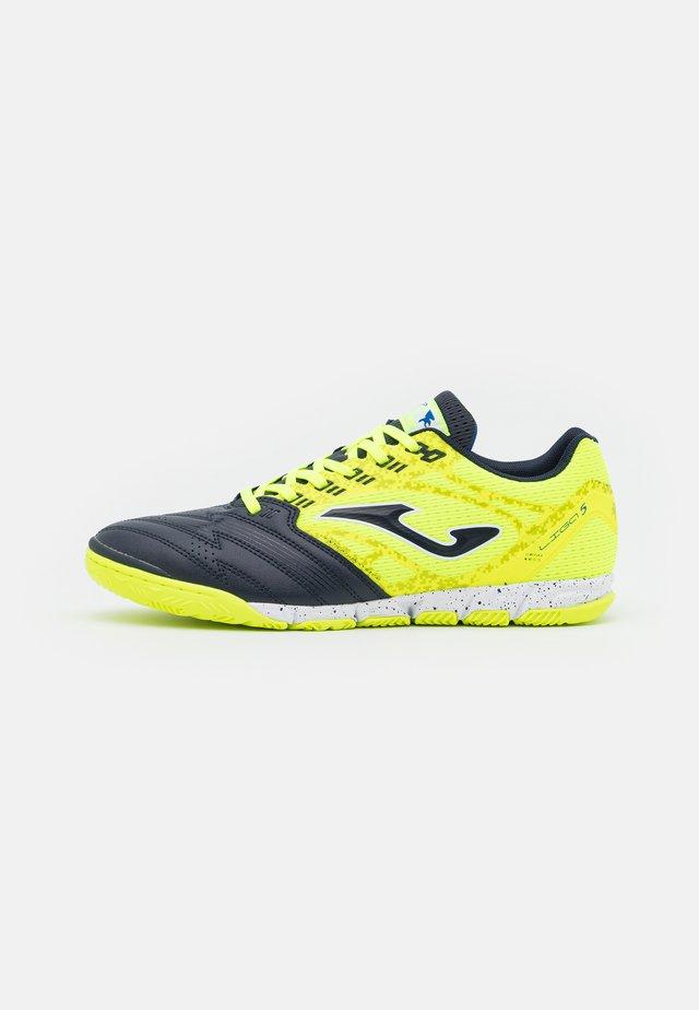 LIGA 5 - Scarpe da calcetto - yellow/black