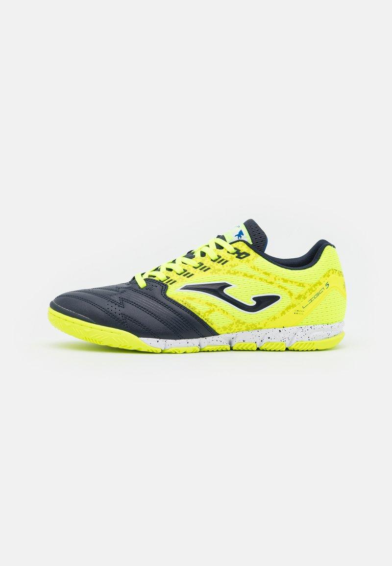 Joma - LIGA 5 - Indoor football boots - yellow/black
