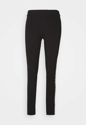 PUNTO LOGO - Leggings - Hosen - black