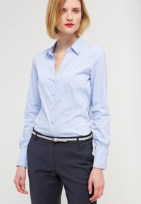 More & More - BLOUSE BILLA - Skjorte - blue - 0
