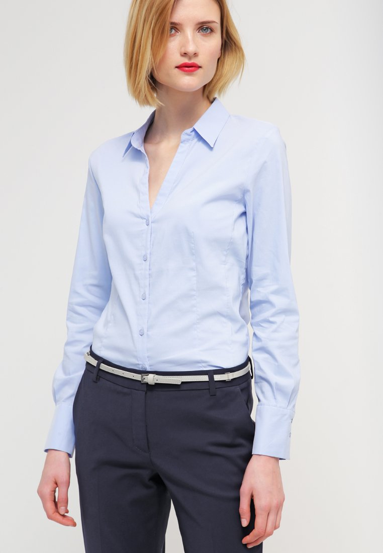 More & More - BLOUSE BILLA - Skjorte - blue