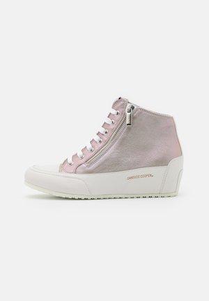 FAST ZIP - Zapatillas altas - bianco/ginevra