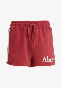 Abercrombie & Fitch - SUMMER - Shorts - red - 3