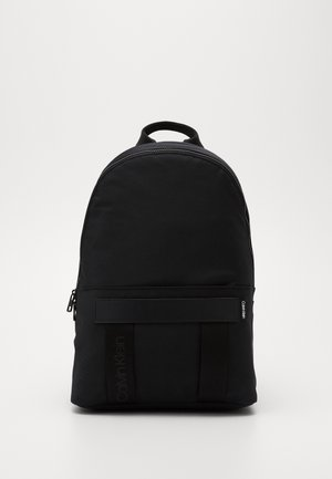 NASTRO LOGO BACKPACK - Reppu - black