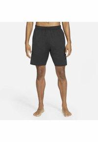 Nike Performance - YOGA - Träningsshorts - off noir/black/(gray) - 3