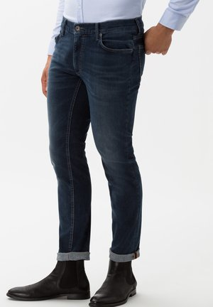 STYLE CHUCK - Slim fit jeans - dark blue used