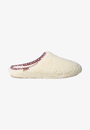 Pantuflas - blanc