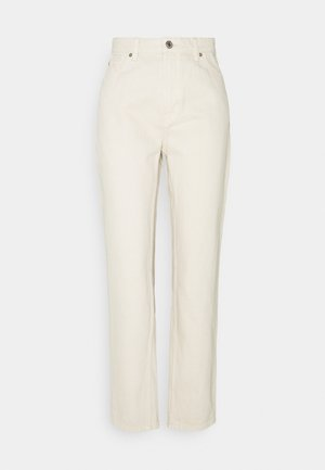 DENIM TROUSERS BETTY ECRU - Jeans baggy - light beige