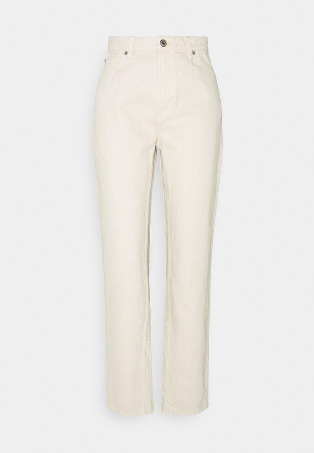 DENIM TROUSERS BETTY ECRU - Jeans Relaxed Fit - light beige