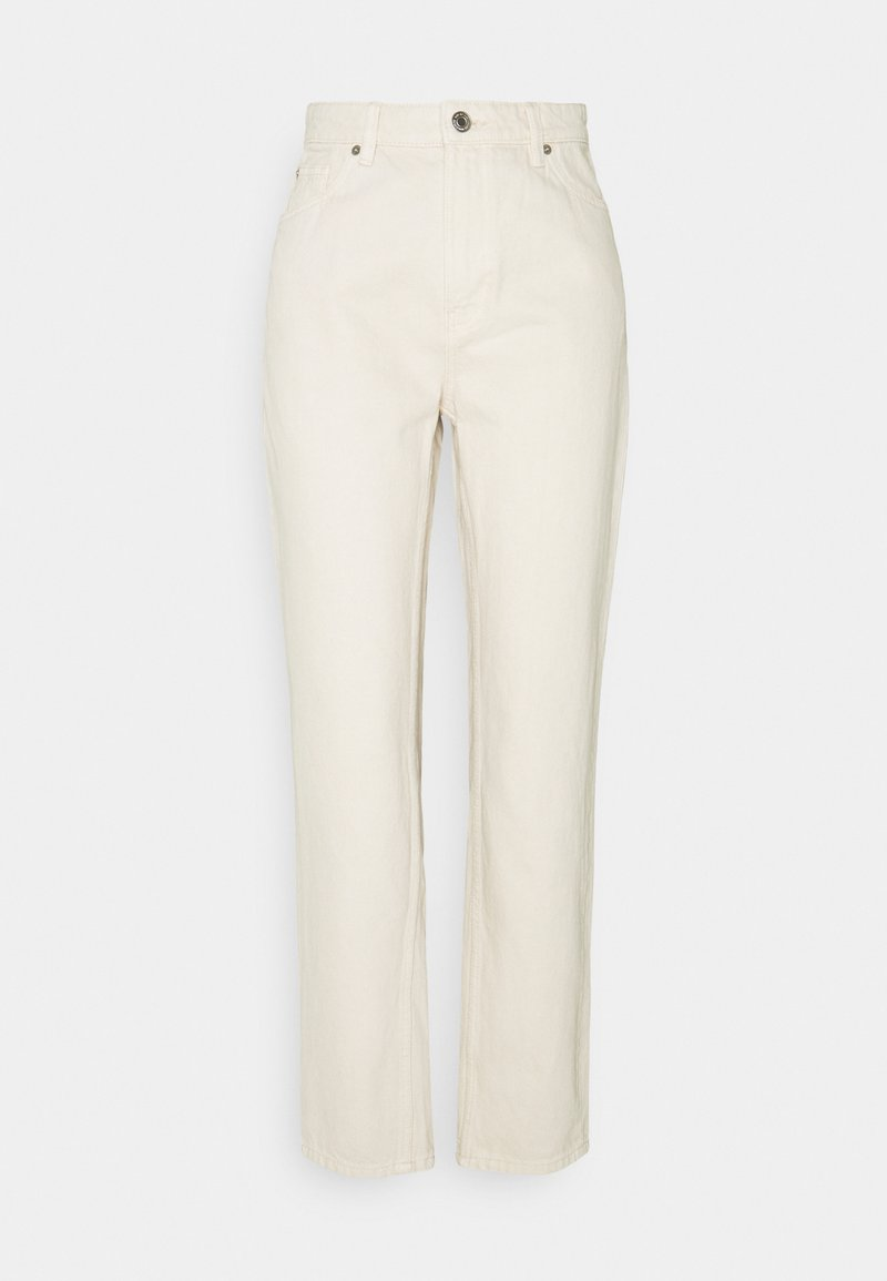Lindex - DENIM TROUSERS BETTY ECRU - Jeans relaxed fit - light beige