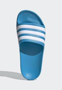 adidas Performance - ADILETTE AQUA SWIM - Pool slides - blue - 1