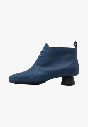 ALRIGHT - Lace-up ankle boots - blau