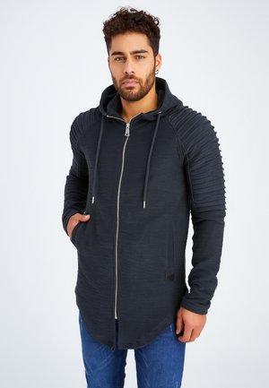 Sweater met rits - anthrazit
