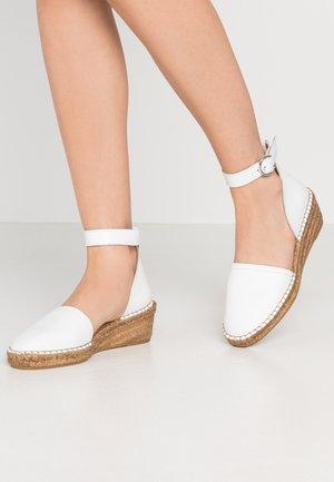 WAYFARER  - Escarpins à plateforme - white