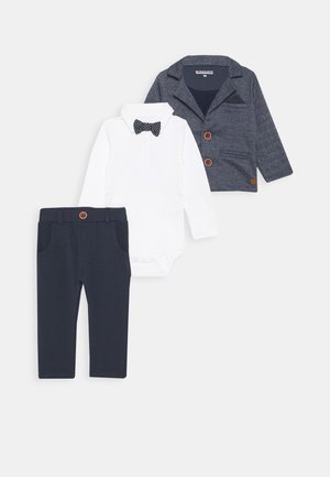 FESTIVE SET - Suit - mottled grey
