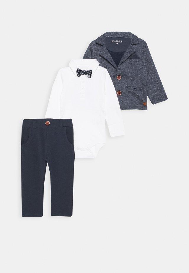 FESTIVE SET - Kostym - mottled grey