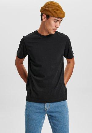 DUKE SS TEE - Basic T-shirt - black