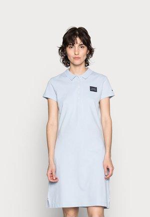 ABO SLIM POLO DRESS - Denní šaty - breezy blue
