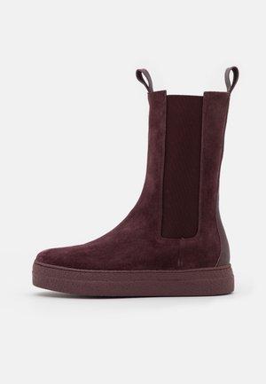 Platform boots - evolo prunga