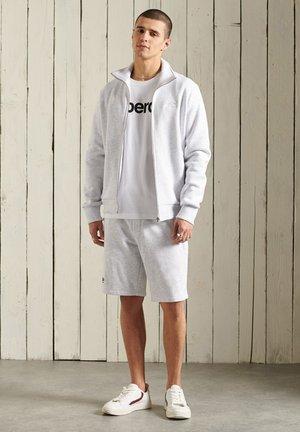 Zip-up hoodie - ice marl