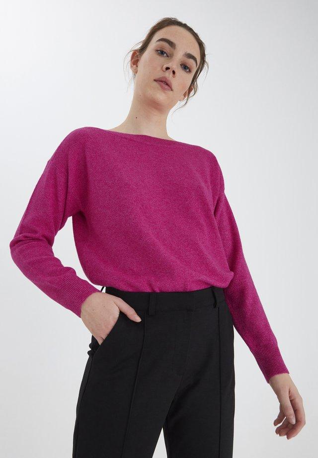 IHALPA LS2 - Sweter - fuchsia red