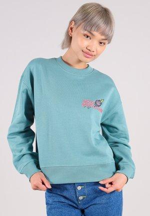 DISCO DEMOLITION - Sweater - turquoise