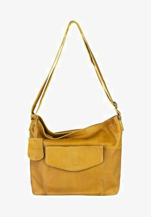 JUST JACKIE - Across body bag - yellow