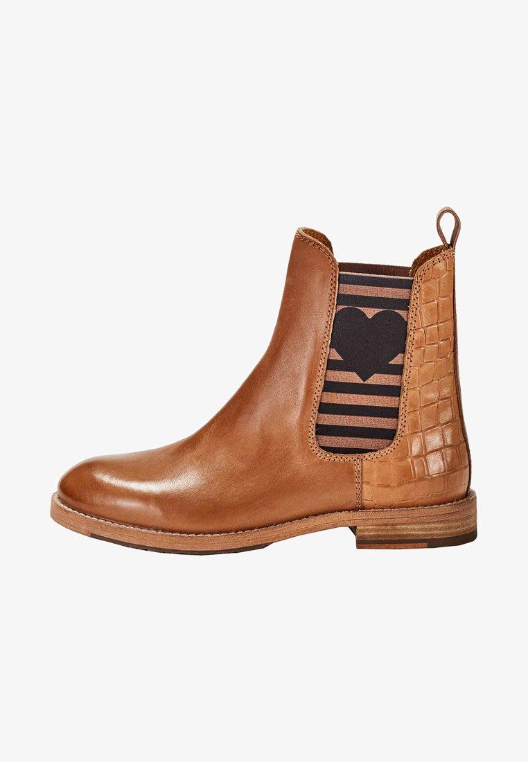 Crickit - Classic ankle boots - cognac