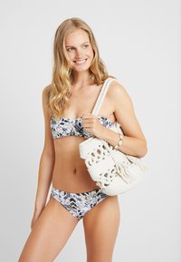 Chiemsee - EBONY SET - Bikini - white/black - 1