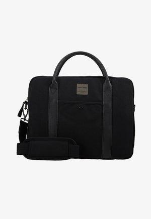 JACCANVAS BRIEFCASE - Briefcase - black