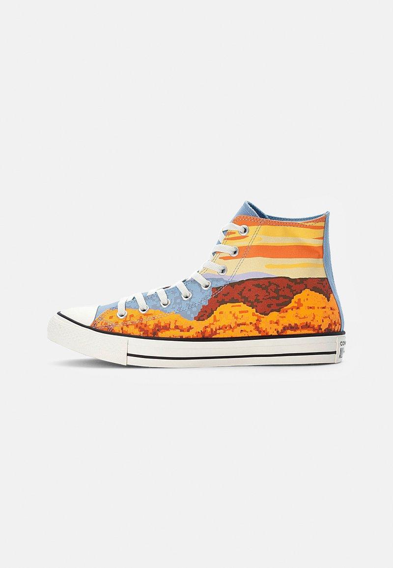 Converse - CHUCK TAYLOR ALL STAR NATIONAL PARKS - High-top trainers - magma orange/sea salt blue/egret