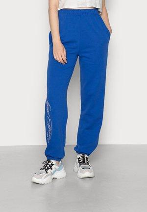 Teplákové kalhoty - cobalt