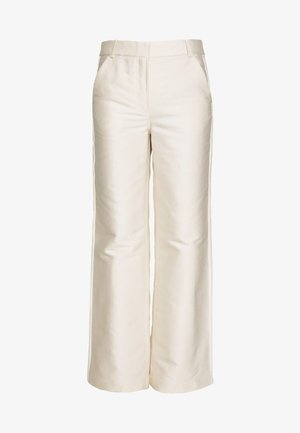 HAILEY FLARE - Trousers - cream