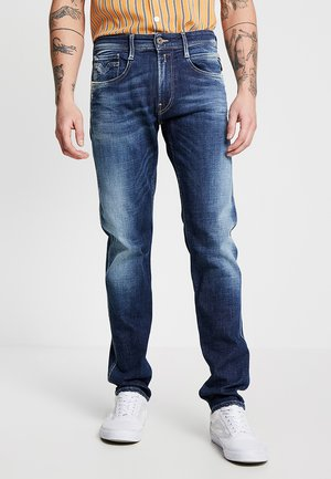 ANBASS - Straight leg jeans - medium blue