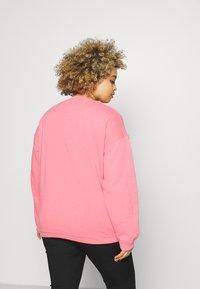 Missguided Plus - WASHED BASIC  - Sweatshirt - rose - 2