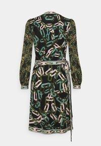 Diane von Furstenberg - GALA - Jersey dress - black/ivory - 7