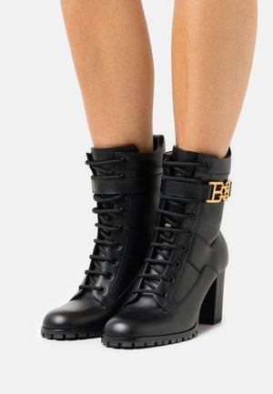 GIOELE 75 - Lace-up ankle boots - black